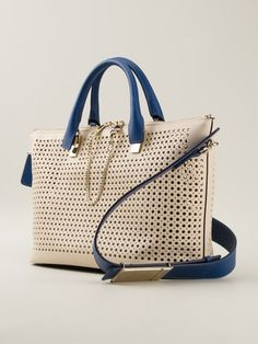 business-lady:  Chloé medium perforated 'Baylee' tote