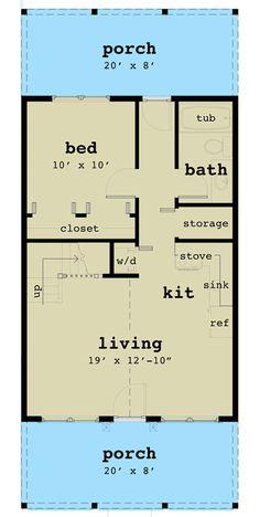 Loft Floor Plans, Small House Floor Plans, Cabin House Plans, Apartment Floor Plans, Craftsman House Plans, A Frame Floor Plans, A Frame Cabin Plans, Granny Pods, House Ideas