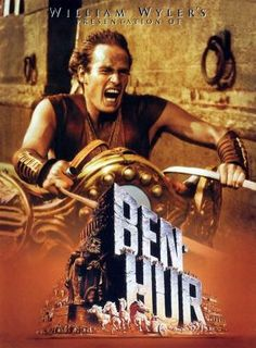 Ben-Hur is a 1959 American epic historical drama film set in ancient Rome, directed by William Wyler and starring Charlton Heston, Stephen Boyd, Jack Hawkins, Hugh Griffith and Haya Harareet