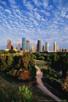 Texas, Houston, skyline.