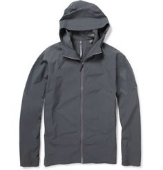 Another great option for staying dry during inclement weather--a rainproof jacket. Less hassle to carry than an umbrella!