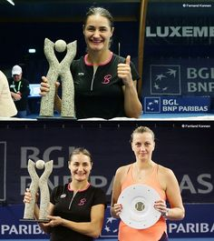 DAUGHTER OF THE YEAR: MONICA NICULESCU WINS LUXEMBOURG TITLE ON MOM'S BIRTHDAY / WTA Luxembourg 2016 Monica Niculescu (Romania) -Petra Kvitova 6-4 6-0.