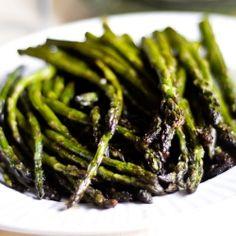 fresh roasted asparagus