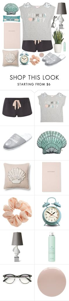 """Good night, peeps!"" by lolalevjesrcna ❤ liked on Polyvore featuring Eberjey, Skylar Luna, New Look, Silken Favours, Loloi Rugs, Kate Spade, Topshop, Newgate, Jonathan Adler and Drybar"