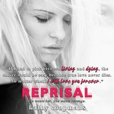 REPRISAL by the amazing Kathy Coopmans is LIVE! Get your copy now! http://amzn.to/1CEAyBb
