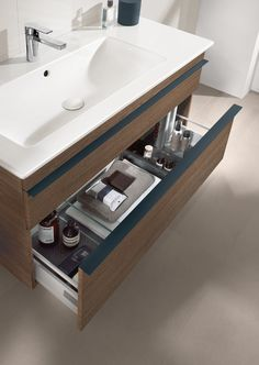 Nice unit & sink. Venticello @ www.villeroyboch.com/furniture