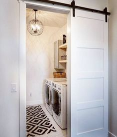There are so many exciting small laundry room design ideas that you can apply for your small laundry room. Having a laundry room in your house is definitely a must. It ensures that you have fresh and clean clothes at… Continue Reading → Mudroom Laundry Room, Laundry Room Remodel, Farmhouse Laundry Room, Small Laundry Rooms, Laundry Room Organization, Laundry Room Design, Organization Ideas, Storage Ideas, Storage Shelves