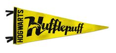Hufflepuff pennant