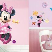 Minnie Mouse Bowtique Giant Decal Room Package