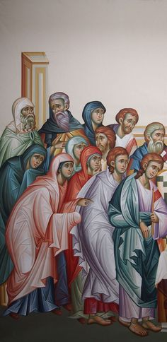 Byzantine Icons, Orthodox Icons, Religious Art, Virgin Mary, Christ, Saints, Projects To Try, Painting, Projects