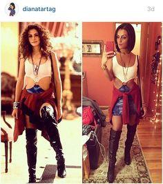Pretty Woman Costume. DIY pretty woman costume. Movie costume. 80s movie costume. DIY Halloween. Pop culture Halloween costume