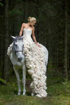Norwegian designer, Leila Hafzi, eco conscious & ethically traded, high-end fashion gowns are feminine, romantic & whimsical, with a touch of vintage. simply stunning.