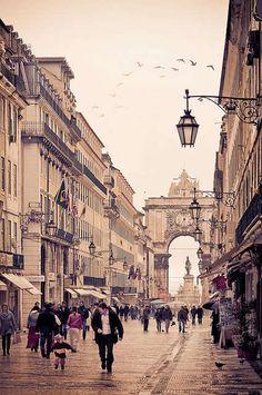 Rua Augusta. Lisboa