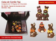 Faça a vontade ao(s) seu(s) filho(s) e compre uma caixa de chocolates irresistível!