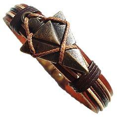 Schwarz Treu Diesel Herren Armband Echt Leder Knopfverschluss A-ruler Bracelet