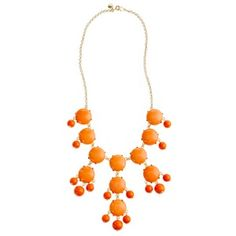 Love the bubble necklace!