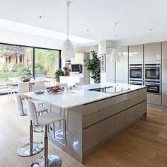Create space for the open plan kitchen of your dreams | Ideal Home