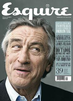 Esquire Spain, 2011 with Robert de Niro