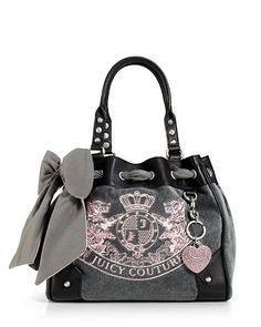 Juicy Couture - New Scottie Embroidery Daydreamer Bag.  Bought this one yesterday! <3