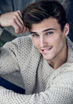 Dawid Schaffranke is All Smiles in New Photos by Nadia von Scotti image Dawid Schaffranke Model 001