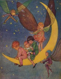 Fairy Print by ANDERSON, Florence Mary - Jonkers Rare Books