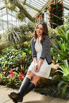 SPRING AT KEW GARDENS - LOOK OF THE DAY | MAKES IT SIMPLE