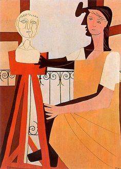 Pablo Picasso - The Sculpture, 1925
