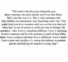 True love withstands all the things that are meant to tear them apart.