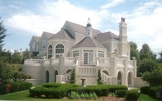Exterior Painting Project on Luxury Home