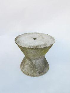 // Ernst Müller; Cement Stool for Eternit, c1950.