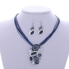 Pendant necklace Leather Rope Chain jewelry set - Jewellery set - www.taccitygoods.com - 9 https://www.taccitygoods.com/products/pendant-necklace-leather-rope-chain-jewelry-set