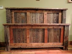 rustic beds   Barnwood Beds - rustic - beds - other metro - by Lonepine Lodgepole