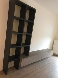 Living Room Tv Unit, Home Living Room, Living Room Decor, Home Room Design, House Design, Tv Stand Designs, Scandinavian Interior, House Rooms, Bookcase