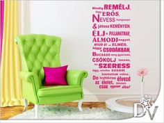 Dekoideen Frühling - 25 ways to create a cheerful spring atmosphere at home - Decoration Solutions Spring Home, Spring Garden, New Home Wishes, Green Armchair, Flower Landscape, Diy Planters, Bathroom Wall Decor, Diy Garden Decor, Vinyl Wall Decals