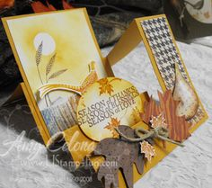 Autumn Days Stair Step Card