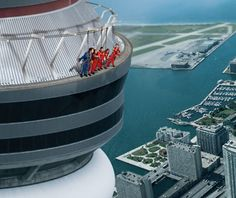 CN Tower Edge Walk...lets start with skydiving :)