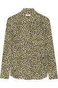 Equipment|Brett leopard-print washed-silk shirt|NET-A-PORTER.COM