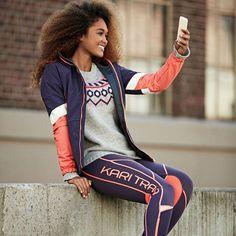 Nieuwe KARI TRAA outfit? Tijd voor een selfie 😁 😘 #karitraa #kari #sport #training #sportkleding #fitness #fitnesskleding #fitgirl #louisetights #tights #hardlopen #outdoor #taurusoutdoor