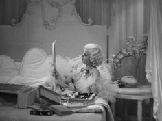 The Style Essentials--Jean Harlow Draped in Deco Decadence in 1933's DINNER AT EIGHT | GlamAmor