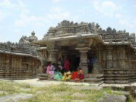 The twin Hoysala temples at Mosale village in Hassan, Karnataka