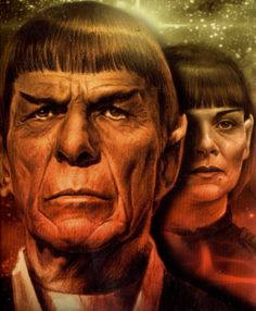 Spock and Valeris.