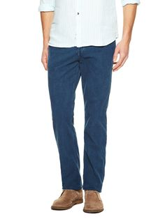 Kyrre Tapered Corded Jeans by Earnest Sewn at Gilt