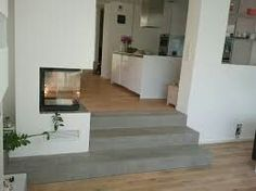 Are you looking for professional concrete Cire coatings and products with a concrete look? Outdoor Fireplace Designs, Home Fireplace, Home Room Design, House Goals, Sustainable Design, Interior Design Living Room, New Homes, Stairs, Lofts