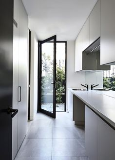 Home Design Inspiration Kitchen Open Concept 21 Ideas For 2019 Laundry Doors, Laundry Chute, Laundry In Bathroom, Laundry Closet, Laundry Tips, Laundry Cupboard, Laundry Cabinets, Upper Cabinets, Kitchen Cupboards