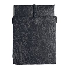 SVÄRTAN Duvet cover and pillowcase(s) IKEA Concealed snaps keep the comforter in place.