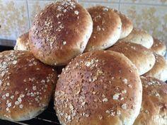 Saftiga grötbullar med kross | söndagsfika.se No Bake Desserts, Bread, Baking, Food Ideas, Bread Making, Patisserie, Breads, Backen, Buns