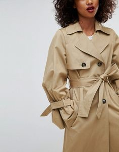 ASOS Trench with Statement Sleeve #ad
