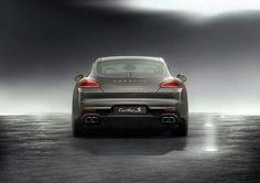 The new Porsche Panamera Turbo S