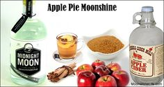 Learn how to make the Best Apple Pie Moonshine or where to buy it. You can follow our Apple Pie Moonshine recipe or purchase it from legal distillers such as Midnight Moon.  Apple Pie Moonshine (also known as apple cinnamon moonshine) is a part of our heritage and one of the most famous drinks in North America. I have tried this and it's perfect!!! YUM!