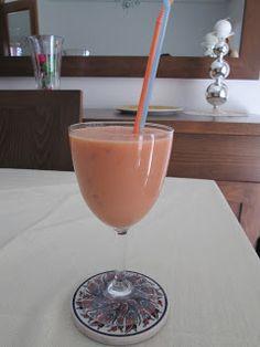 smoothie prune peche
